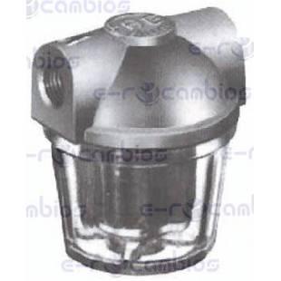Filtro gasoil 3//8 vaso plastico